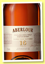 Aberlour 16 yo 'Double Cask Matured' (40%, OB, +/-2015)