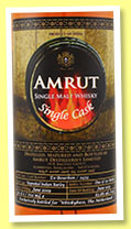 Amrut 2009/2015 (62.8%, OB for Whiskybase, bourbon, cask #3434, 150 bottles)