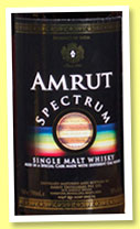 Amrut 'Spectrum' (50%, OB, 1000 bottles, 2015)