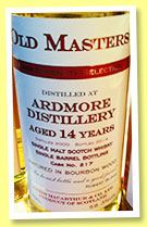 Ardmore 14 yo 2000/2014 (58.3%, James MacArthur, Old Masters, barrel, cask #217)