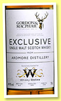 Ardmore 1993/2015 (49.9%, Gordon & MacPhail, Exclusive for Whisky-Online, cask #5750, 176 bottles)