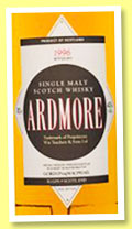 Ardmore 1996/2013 (43%, Gordon & MacPhail, licensed bottling)