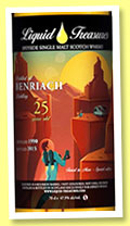 Benriach 25 yo 1990/2015 (47.9%, Liquid Treasures, Travel to Mars, bourbon barrel)
