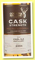 Caol Ila 10 yo 2004/2015 (60.1%, Gordon & MacPhail, Cask Strength, sherry butts)