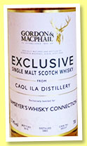 Caol Ila 2003/2015 (57.4%, Gordon & MacPhail, for Ramseyer, first fill bourbon, cask #302237)Caol Ila 2003/2015 (57.4%, Gordon & MacPhail, for Ramseyer, first fill bourbon, cask #302237)