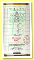 Clynelish 18 yo 1997/2015 (53.3%, Wilson & Morgan, Barrel Selection, Tokaji wood, cask #6493)