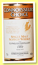 Clynelish 1997/2013 (46%, Gordon & MacPhail, Connoisseurs Choice, refill sherry hogsheads)
