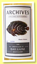 Dailuaine 17 yo 1996/2014 (51.9%, Archives, hogshead, cask #10607)