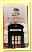 English Whisky Co. 'Peated' (55.2%, OB for The Whisky Exchange, 290 bottles)