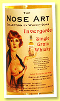 Invergordon 1988/2015 'The Nose Art' (47.4%, Whisky-Doris, bourbon hogshead, cask #8096, 141 bottles)