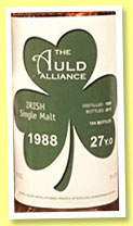 Irish Whiskey 27 yo 1988/2015 (51.2%, The Auld Alliance, 194 bottles)