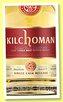 Kilchoman 2007/2014 (60.4%, OB, for Whisky in Leiden, Holland, cask #239/2007)