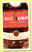 Kilchoman 2009/2014 (59.3%, OB, for Whisky Circle Pinzgau, Austria, PX finish, cask #379/2009)