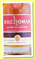 Kilchoman 2009/2014 (58.3%, OB, for Abbey Whisky, PX finish, cask #285/2009, 270 bottles)