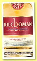 Kilchoman 2010/2015 'The Trilogy' (60.6%, OB, for LMDW, sherry butt, 642 bottles)