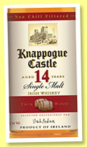 Knappogue Castle 14 yo 'Twin Wood' (46%, OB, Irish, single malt, +/-2014)