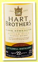 Littlemill 22 yo 1992/2014 (52.5%, Hart Brothers, Finest Collection, American oak)