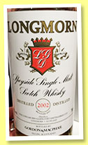 Longmorn 2002/2015 (43%, Gordon & MacPhail, licensed bottling)