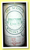 Longmorn 37 yo 1968/2005 (56.9%, Scotch Malt Whisky Society, #7.34, 'An absolute stoater')