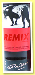 Macallan 'Remix Remixed' (58.9%, OB, Masters of Photography, Asia Travel Retail, first fill sherry, cask #15245, 500 bottles, 2013)