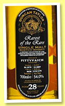 Pittyvaich 28 yo 1979/2007 (54%, Duncan Taylor, Rarest of the Rare, cask #5636, 175 bottles)