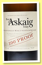 Port Askaig '100° Proof' (57.1%, Specialty Drinks, +/-2015)