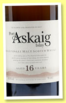 Port Askaig 16 yo (45.8%, Specialty Drinks, 2015)