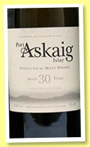 Port Askaig 30 yo (45.8%, Specialty Drinks, +/-2015)