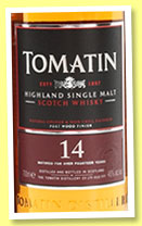 Tomatin 14 yo 'Port Wood Finish' (46%, OB, +/-2015)