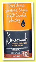 Benromach 10 yo '100° proof' (57%, OB, +/-2015)