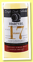 Braeval 17 yo 1997/2015 (54.7%, The Single Cask Collection, bourbon hogshead, cask #126677, 269 bottles)