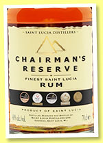 Chairman's Reserve (40%, OB, St. Lucia, +/-2015)