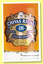 Chivas Regal 18 yo 'Gold Signature' (40%, OB, blend, +/-2015)