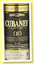 Cubaney 18 yo 'XO' (38%, OB, Dominican Republic, +/-2015)