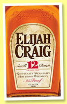 Elijah Craig 12 yo 'Small Batch' (47%, OB, Kentucky straight bourbon, +/-2015)