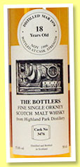 Highland Park 18 yo 1978/1996 (57.6%, The Bottlers, cask #3476)