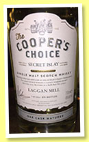 Laggan Mill (46%, Cooper's Choice, refill butt, cask #310547, 870 bottles)