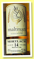 Mortlach 14 yo 1998/2013 (46%, The Maltman, bourbon cask, cask #10998, 376 bottles)