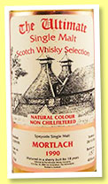 Mortlach 18 yo 1990/2008 (46%, Van Wees, The Ultimate, butt, cask #5961)