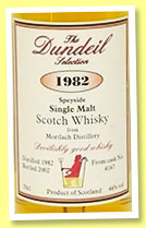 Mortlach 1982/2002 (46%, Dundeil Selection, cask #4167)