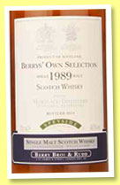 Mortlach 1989/2010 (46%, Berry Bros & Rudd, cask # 5141)