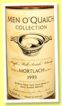 Mortlach 1993/2011 (51.2%, Duncan Taylor for Men O'Quaich, sherry octave, cask #796864)