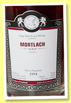 Mortlach 1994/2012 (55.2%, Malts of Scotland, sherry hogshead, cask #MoS 12059, 235 bottles)