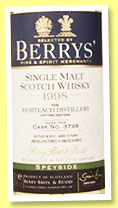 Mortlach 1998/2012 (56.8%, Berry Bros & Rudd, cask #3798)