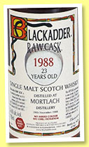 Mortlach 23 yo 1988/2012 (56.6%, Blackadder, Raw Cask, refill sherry butt, cask #4741, 562 bottles)