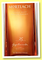Mortlach 25 yo (43.4%, OB, 50cl, +/-2015)