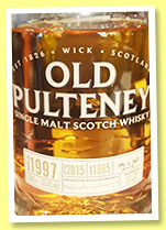 Old Pulteney 1997/2015 'Ambassador's Cask' (53.4%, OB, selected by Frida Birkehede and David Tjeder for Allt Om Whisky, cask #1085, 260 bottles)