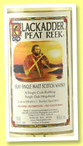 Peat Reek 'Islay Malt Whisky' (46%, Blackadder, hogshead, cask #PR2015-3, 452 bottles, 2015)