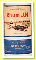 Rhum J.M 'White Rum' (40%, OB, Martinique, agricole, white, +/-2015)