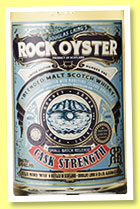 Rock Oyster 'Cask Strength' (57.4%, Douglas Laing, blended malt, 2015)